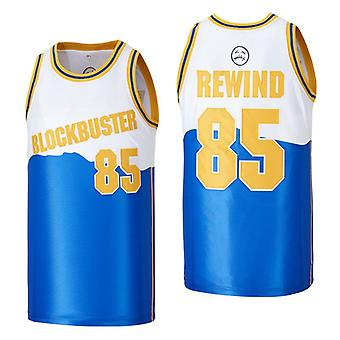 Mens Basketball Jersey #14 #85 Blockbuster Home Fans Jerseys 90s Moive Space Sports Shirts 90s Hiphop Party Clothing Stitched S-xxl