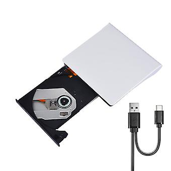 Externe USB 3.0 Slim DVD RW CD Writer Drive Reader Brenner Player für Laptop PC