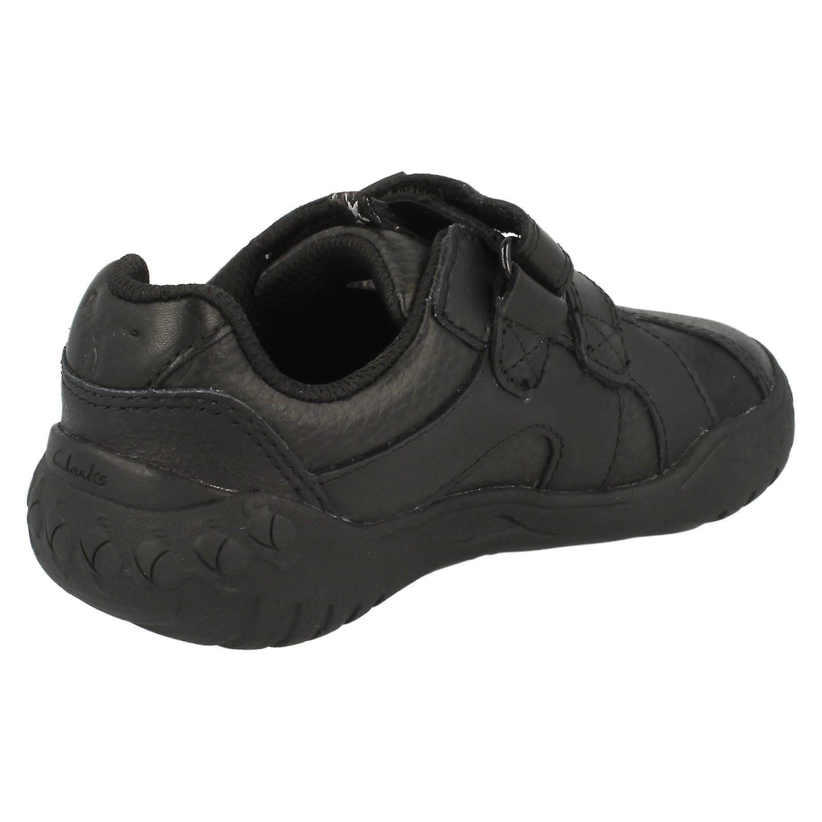 Boys Clarks School Shoes /'Stomp Roar/'