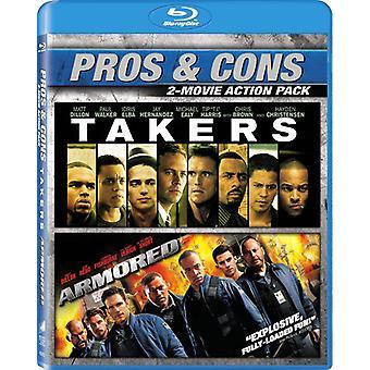 Panssaroitu / ottajia [Blu-ray] USA tuonti