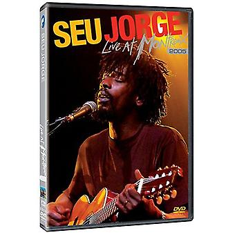 Seu Jorge - Live at Montreux 2005 [DVD] USA import
