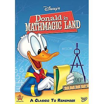Donald i Mathmagic Land [DVD] USA import