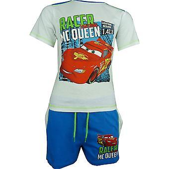 Gutter Disney Carsning McQueen T-shirt & Shorts sett