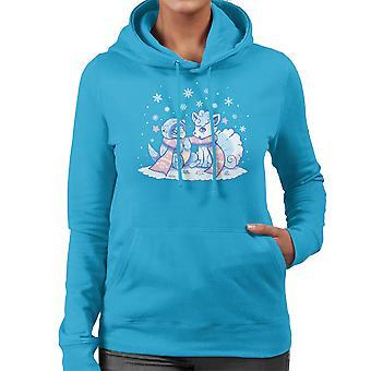 Frosty Forms Pokemon Sun And Moon Women's Hooded Sweatshirt