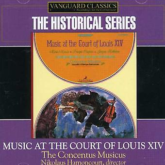 Nikolaus Harnoncourt - Music at the Court of Louis Xiv [CD] USA import