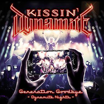 Kissin Dynamite - generatie Goodbye: Dynamite nachten [DVD] USA importeren