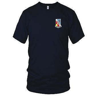 Bataillon de renseignement militaire - 103ème armée US brodé Patch - Mens T Shirt