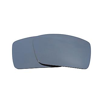 SeekOptics Replacement Lenses for Oakley Thump 2 Polarized Silver Mirror UV400