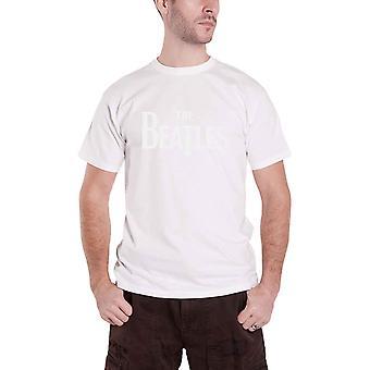 Den Beatles T skjorta Vintage droppe T logotyp Hej-Build Design officiella Mens nya vita