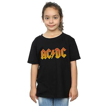 AC/DC Girls Fire Logo T-Shirt