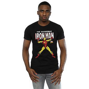 Marvel Men's Iron Man Chains T-Shirt