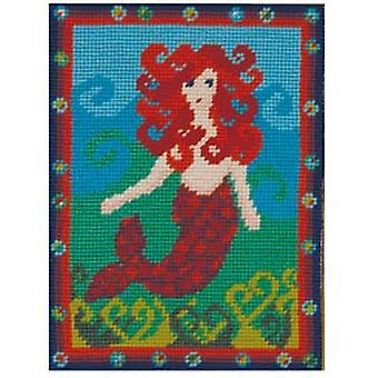 Molly's zeemeermin Needlepoint Kit