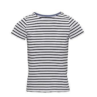 Asquith y Fox para mujer señora marinera costera de manga corta camiseta