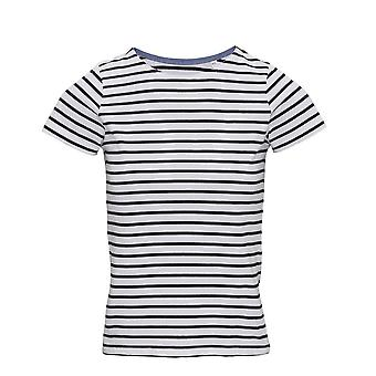 Asquith & Fox Womens/Ladies Mariniere Coastal Short Sleeve T-Shirt