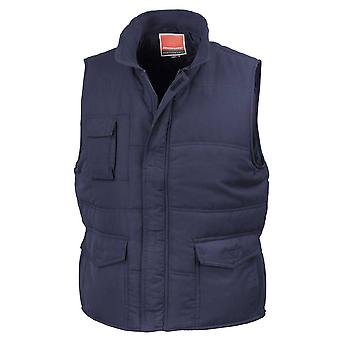 Result Unisex Mens and Ladies Lined Windproof Bodywarmer Gilet