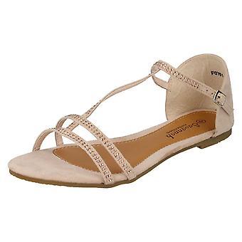 Ladies Savannah T-Bar Sandals