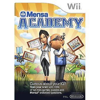 Mensa Academy (Nintendo Wii) - Nouveau