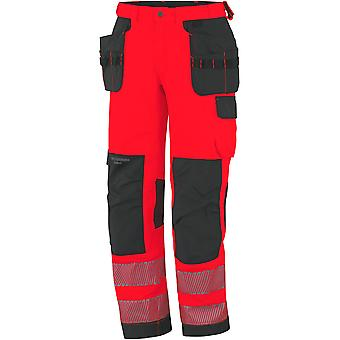Helly Hansen Mens York Hi Vis Construction Workwear Pants Trousers