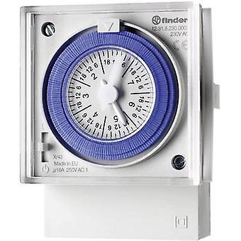 Finder Timer (front-mount) Operating voltage: 230 V AC 12.31.8.230.0007 1 change-over 16 A Week settings
