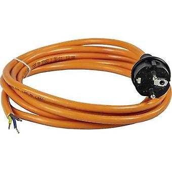 as - Schwabe 70908 Current Cable Orange 5.00 m