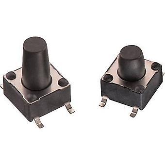 Würth Elektronik WS-TSS 430182070816 Druckknopf 12 V DC 0.05 A 1 x Off/(On) momentan 1 Stk.(s)