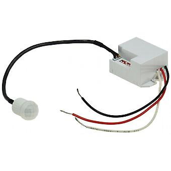 Détecteur de mouvement intégré «CT-PIR 12V mini» 12V DC, 1-60W LED blanche adapté