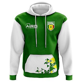 2020-2021 Senegal Home Concept Football Hoody (Kids)