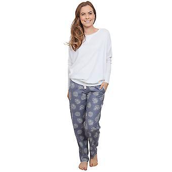 Cyberjammies 3902 kvinnors Elisa White pyjamas pyjamas Top