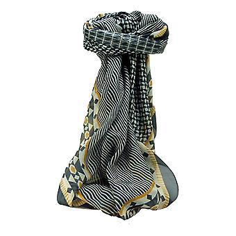 Mulberry Silk Contemporary Quadrat Schal geometrischen G119 von Pashmina & Seide