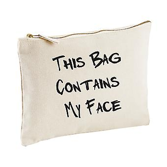 This Bag Contains My Face Make up Bag