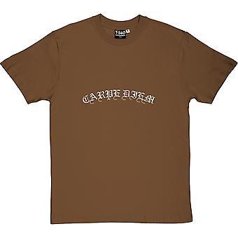 T-shirt Carpe Diem Chestnut Men-apos;s