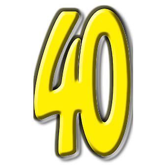 Numero 40 - Lifesize pahvi automaattikatkaisin / seisoja