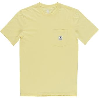 Element Basic Pocket Label Short Sleeve T-Shirt in Popcorn Element Basic Pocket Label Short Sleeve T-Shirt in Popcorn Element Basic Pocket Label Short Sleeve T-Shirt in Popcorn Element Basic