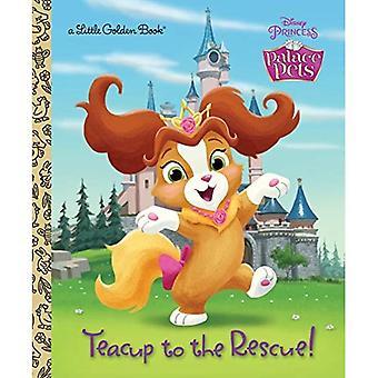 Tekopp till undsättning! (Disney Princess: Palace husdjur) (Liten gyllene bok)