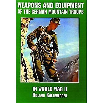 Wapens en uitrusting van de berg van de Duitse troepen in de Tweede Wereldoorlog (de geschiedenis van de Schiffer militaire/luchtvaart)
