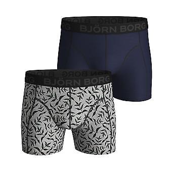 Bjorn Borg Men's Boxer Shorts 2 Pair ~ Summer Leaf