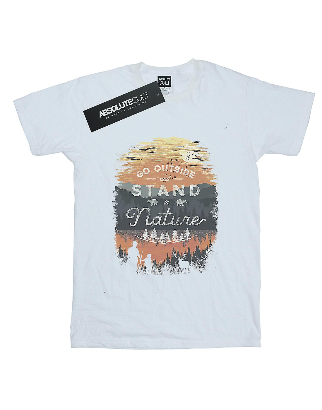 Dan Dingeroz Women's Stand In Nature Boyfriend Fit T-Shirt