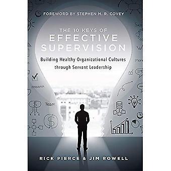 Tehokas valvonta 10 avainta: rakentaa tervettä organisaation kulttuurien palvelija johtajuutta