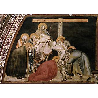 La Déposition, Pietro Lorenzetti, 60x40cm