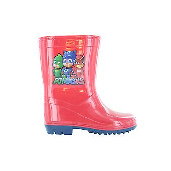 PJ Masks Boys Cardinham Slip On Wellington Boots UK Sizes Child 5-12