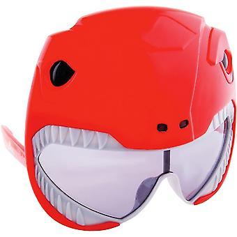 Sunstache Power Ranger Red