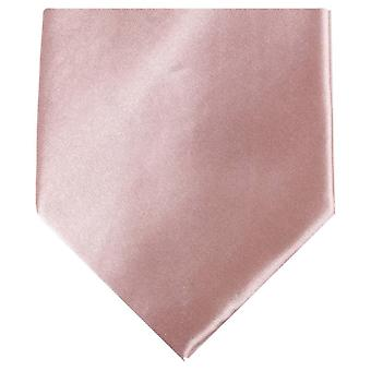 Knightsbridge Neckwear régulière Polyester Tie - rose Nude