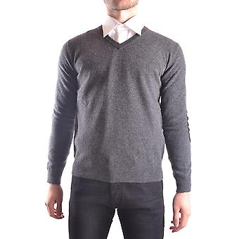 Altea Ezbc048049 Men's Grey Wool Sweater