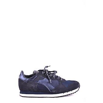 Diadora Ezbc116024 Mujer's Zapatillas de ante azul