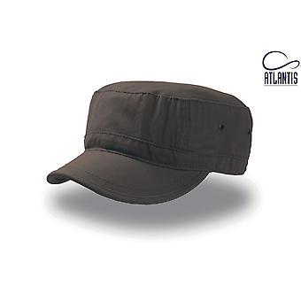 Atlantis Chino Cotton Urban Military Cap (Pack of 2)