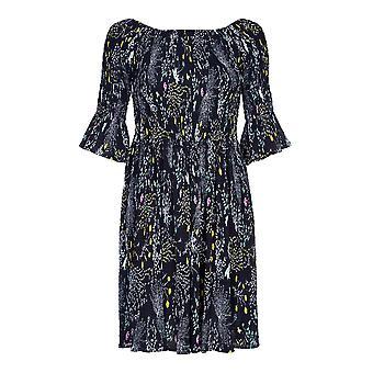 Yumi Womens/Ladies Floral Crepe Dress