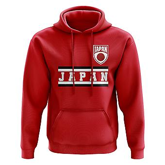 Japan Core Football Country Hoody (Red)