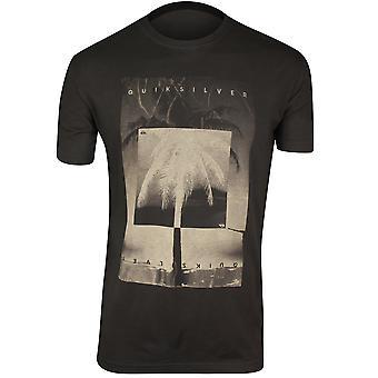 Quiksilver Mens inverterad T-Shirt-asfalt grå/Beige