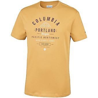 Columbia Leathan Trail EM0729718 t-shirt universel hommes d'été