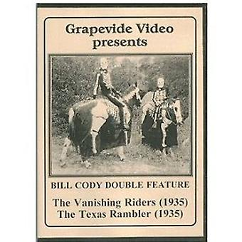 Vanishing Riders/Texas Rambler (1935) [DVD] USA import